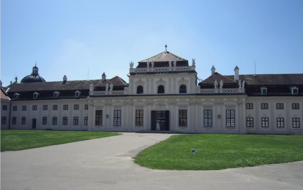 Unteres Belvedere, Orangerie sowie Prunkstall