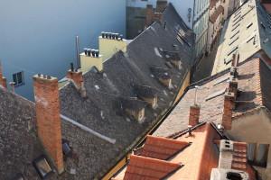 Haus Dach Aussicht