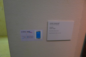 Abb. Leopoldmuseum - Beschriftung Makart