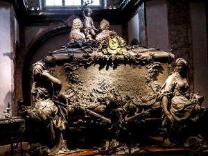 Doppelsarkophag Maria Theresias und Franz Stephans