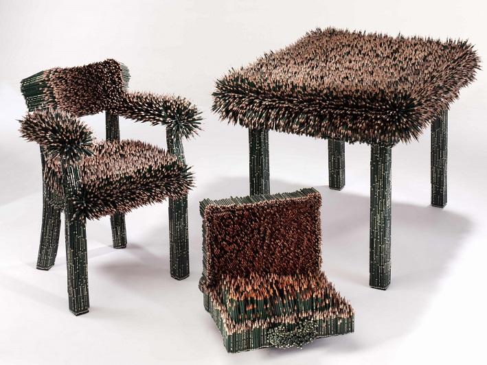 Bleistiftmöbel von Kerstin Schulz © Faber-Castell