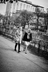 Elisabeth Wolf  und Katrin Kadletz   © Gabriele Paar