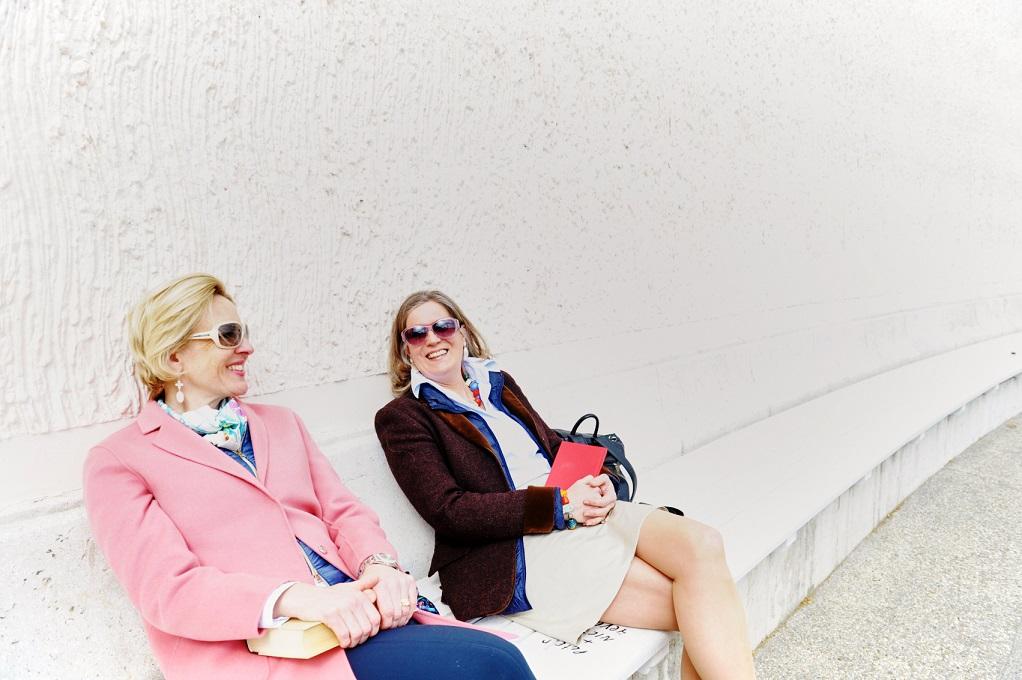 Elisabeth Wolf (l.) und Katrin Kadletz (r.) | © Gabriele Paar