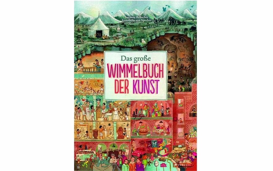 #artbooksforkids – Das große Wimmelbuch der Kunst